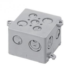 未来工業 【お買い得品 20個セット】 結露防止 四角コンクリートボックス 中深型75mm 4CB-75NDK_20set