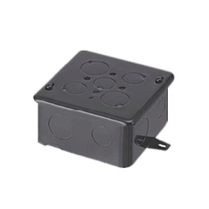 未来工業 【お買い得品 20個セット】 四角コンクリートボックス 鉄製 中形四角H54 OF-4CB-54N_20set