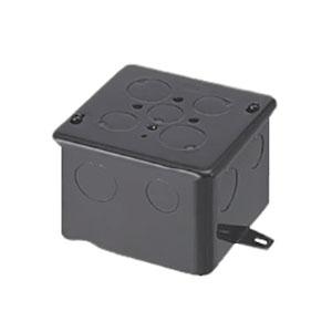 未来工業 【お買い得品 20個セット】 四角コンクリートボックス 鉄製 中形四角H75 OF-4CB-75N_20set