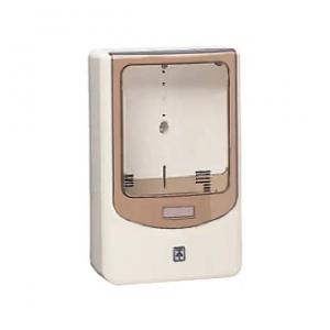 未来工業 【お買い得品 5個セット】 電力量計ボックス バイザー付 1個用 ミルキーホワイト×スモークブラウン 全関東電気工事協会「優良機材推奨認定品」 WPN-2M-Z_5set