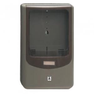 未来工業 【お買い得品 5個セット】 電力量計ボックス バイザー付 1個用 VE22・28用 ライトブラウン×スモークブラウン WPN-2LB_5set