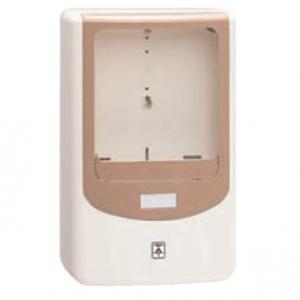 未来工業 【お買い得品 5個セット】 電力量計ボックス バイザー付 1個用 VE22・28用 ミルキーホワイト×サンドベージュ WPN-2VM_5set