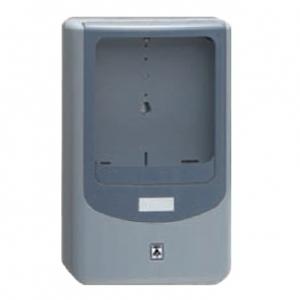 未来工業 【お買い得品 5個セット】 電力量計ボックス バイザー付 1個用 グレー×ブルーグレー 全関東電気工事協会「優良機材推奨認定品」 WPN-3VG-Z_5set