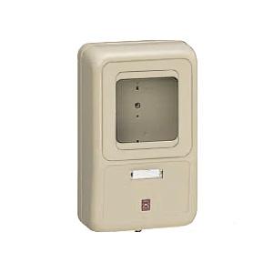 未来工業 【お買い得品 5個セット】 電力量計ボックス 化粧ボックス 1個用 グレー 全関東電気工事協会「優良機材推奨認定品」 WP-2G-Z_5set