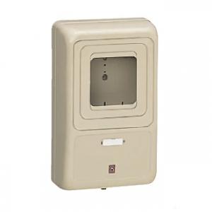 未来工業 【お買い得品 5個セット】 電力量計ボックス 化粧ボックス 1個用 ミルキーホワイト 全関東電気工事協会「優良機材推奨認定品」 WP-3M-Z_5set