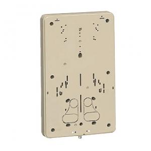未来工業 【お買い得品 10個セット】 積算電力計・計器箱取付板 1個用 グレー BP-3G_10set