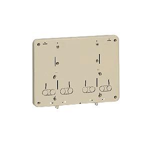 未来工業 【お買い得品 10個セット】 積算電力計・計器箱取付板 ライトブラウン BP-0WLB_10set