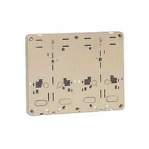 未来工業 【お買い得品 10個セット】 積算電力計・計器箱取付板 グレー BP-2WG_10set