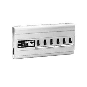 未来工業 ミライパネルMP型 単相三線式 主幹中性線欠相保護付3POC付漏電しゃ断器 露出・半埋込み兼用 回路数6+スペース数0 MP61-36K