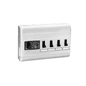 未来工業 ミライパネルMP型 単相二線式 主幹2P30AOC付漏電しゃ断器 露出・半埋込み兼用 回線数4+スペース数0 MP4-24K
