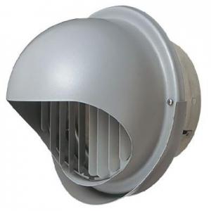 三菱 防火ダンパー付高性能丸形フード ステンレス製 ギャラリ付 壁汚れ防止タイプ 適用パイプ:φ175mm P-21KFSD5