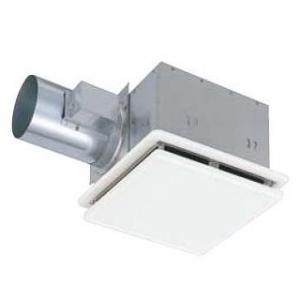 三菱 ダクト用換気扇 天井埋込形 脱臭機能付タイプ 低騒音形 着せ替えインテリアタイプ 接続パイプ:φ150mm 埋込寸法:315mm角 VD-20ZDS8-W