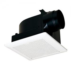 三菱 ダクト用換気扇 天井埋込形 サニタリー用 低騒音形 接続パイプ:φ150mm 埋込寸法:315mm角 VD-20ZLC9-S