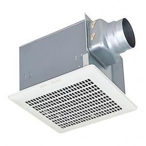 三菱 ダクト用換気扇 天井埋込形 台所用 低騒音形 接続パイプ:φ100mm 埋込寸法:280mm角 VD-18ZY9