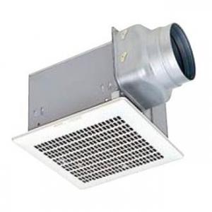 三菱 ダクト用換気扇 天井埋込形 台所用 低騒音形 接続パイプ:φ150mm 埋込寸法:280mm角 VD-18ZL9