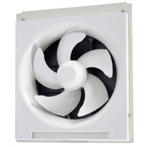 三菱 標準換気扇 学校用 窓枠据付け 24時間換気機能付 電気式シャッター 速調なし 電源コード(プラグ付) 20cm EX-20SC3-EH