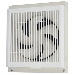 三菱 標準換気扇 学校用 窓枠据付け格子タイプ 24時間換気機能付 電気式シャッター 速調付 25cm EX-25SC3