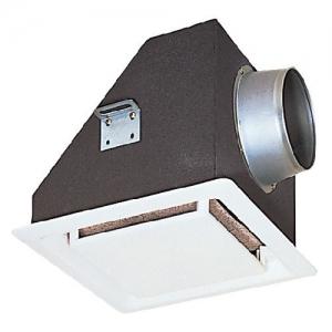 三菱 天井埋込形フィルター内蔵グリルサイレンサー 埋込寸法:390mm角 P-23GSF3