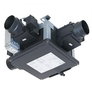 三菱 エアフロー環気システム 天井排気タイプ サニタリー換気ユニット DCブラシレスモーター 耐湿タイプ ドライ&ミスト対応 中間取付形 V-180SZ4-N-B