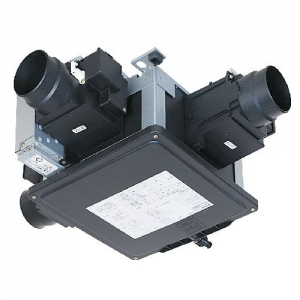 三菱 エアフロー環気システム 天井排気タイプ サニタリー換気ユニット DCブラシレスモーター 耐湿タイプ ドライ&ミスト対応 中間取付形 V-180SZ4-N-C