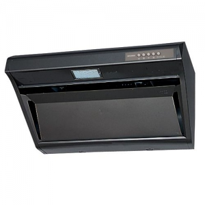 三菱 レンジフードファン デルタキャッチ形 ブラックタイプ 寸法:幅900mm 接続パイプ:φ150mm V-509RH3
