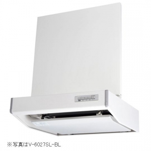 【受注生産品】 三菱 レンジフードファン フラットフード形 BL規格排気型3型 接続パイプ:φ150mm V-6037S-BL