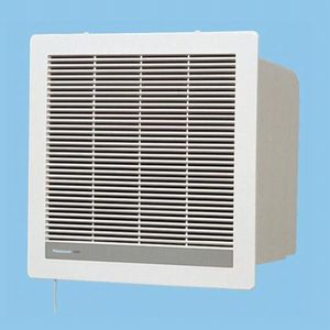 パナソニック 気調・熱交換形換気扇 壁埋熱交形 連動式シャッター 色=ホワイト 温暖地・準寒冷地用 FY-14ZL-W