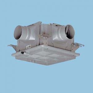 パナソニック 中間ダクトファン 1~3室用 風圧式シャッター 樹脂製 FY-18DPC1