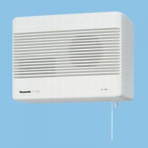 パナソニック 気調・熱交換形換気扇 壁掛形・1パイプ式 排湿形 手動式シャッター 色=ホワイト 寒冷地仕様 FY-12ZJ1-W