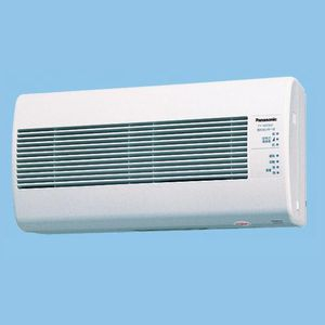 パナソニック 気調・熱交換形換気扇 壁掛形・1パイプ式 自動運転形 汚れセンサー 電気式シャッター 色=ホワイト 温暖地・準寒冷地用 FY-16ZGQ1-W