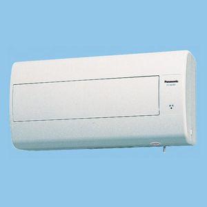 パナソニック 気調・熱交換形換気扇 壁掛形・1パイプ式 排湿形 電気式シャッター 色=ホワイト 寒冷地仕様 FY-16ZJE1-W