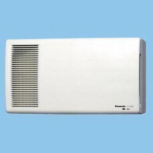 パナソニック 気調・熱交換形換気扇 壁掛形・2パイプ式 電気式シャッター 色=ホワイト 温暖地・準寒冷地用 FY-17ZHE3-W