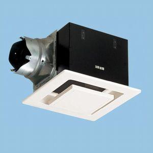 パナソニック 天井埋込形換気扇 排気 低騒音形 鋼板製本体 ルーバーセットタイプ フラットパネル形 埋込寸法:270mm角 適用パイプ径:φ150mm FY-27FP7