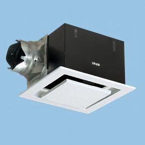パナソニック 天井埋込形換気扇 排気・強-弱 低騒音・大風量形 鋼板製本体 ルーバーセットタイプ フラットパネル形 埋込寸法:320mm角 適用パイプ径:φ150mm FY-32FPK7