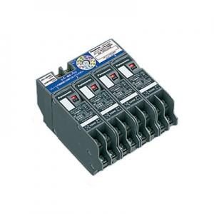 パナソニック 16A片切リレー付子器 分電盤用 4回路 ロータリ設定式 WRS3214