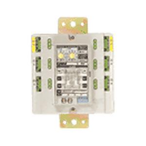パナソニック ターミナルユニット付 6Aリレーユニット 両切 天井用 4回路用 ロータリスイッチ設定式 WR34629