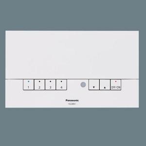 パナソニック 壁埋込 ライトマネージャFx 記憶式4回路 親器 NQ28841