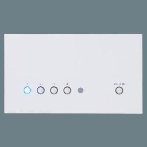 パナソニック 5回路マルチ調光タイプ 親器 ホワイト NQ28751WK