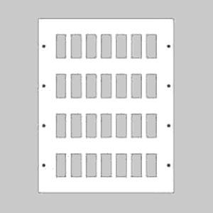 パナソニック 新金属リモコンスイッチプレート 4段 7連型 112コ用 スイッチ取付金具付 WR3541121