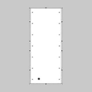 パナソニック 2線式リモコンセレクタスイッチ 埋込ボックス 8段 8連型 WR7088