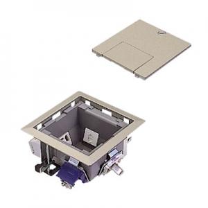パナソニック マルチフロアコンスクエア マルチメディアユニット S型 電源 映像 電話 LAN グレーメタリック DUM5351MH