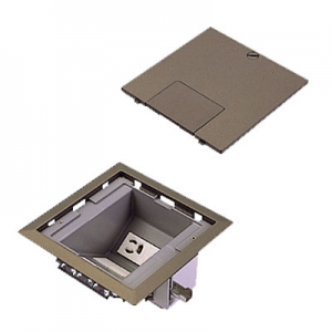 パナソニック マルチフロアコンスクエア 電源ユニット L型 電源×2 弱電用ブランクチップ×6 ブラウンメタリック DUM6300MA