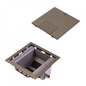 パナソニック マルチフロアコンスクエア フリーボックスユニット L型 電源用取付枠×1 弱電用取付枠×2 ブラウンメタリック DUM6888MA
