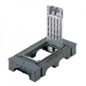 パナソニック インナーコンセント フラット型 角2型 接地2Pコンセント 4コ口 アルミ製 15A 125V NE32630L