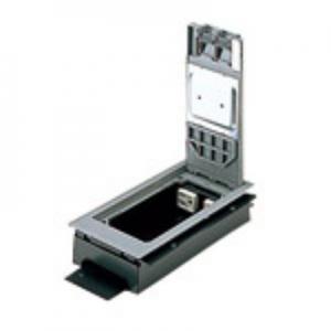 パナソニック インナーコンセント 低床用 角2型 電力用 接地2Pコンセント 4コ口 樹脂製 15A 125V NE32700