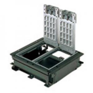 パナソニック インナーコンセントボックス フラット型 角3型 アルミプレートボックス 仕上げ材 タイルカーペット NE33609