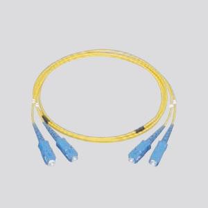 パナソニック 光ファイバコード 2心両端SCコネクタタイプ シングルモード コード長2m イエロー NR6121119Y