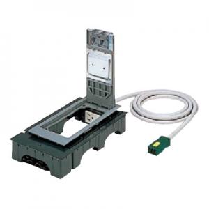 パナソニック ハーネス用インナーコンセント 角2型 置敷タイプ 電力用 4コ口 樹脂製 ケーブル長3m 15A 125V NE32650WGL