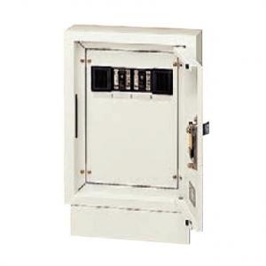 パナソニック 壁面直付/埋込兼用型 電力用接続ボックス 端子台・漏電ブレーカ付 電力線 3芯2条用 2回路 NE02322