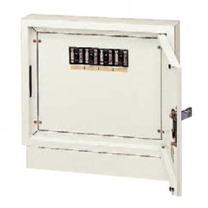 パナソニック 壁面直付/埋込兼用型 電力用接続ボックス 端子台・漏電ブレーカ付 電力線 3芯4条用 4回路 NE02342